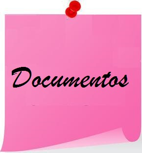 Post it rosa documentos